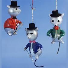de carlini 3 blind mice ornaments the cottage shop
