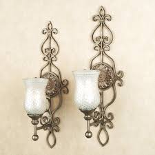 wall ideas decorative candle wall sconces for living room image