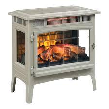electric fireplace set dfi0ar duraflame log insert dfl001