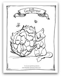 free vegetable garden coloring books printable activity pages for