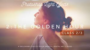 Photoshop Light Effects 2 3 Photoshop Light Effects The Golden Hour Kasia Zmokla