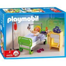 chambre playmobil playmobil 4405 patient chambre d hôpital playmobil achat prix