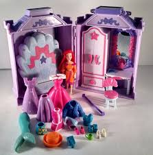 disney princess polly pocket ariel playset lots