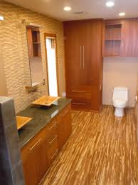 wood floor in bathroom fascinating bamboo flooring in bathroom and laminate inspirations