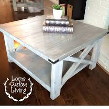 distressed white side table coffe table phenomenal white distressed wood coffee table white
