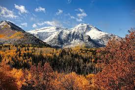 Utah mountains images Mount timpanogos in autumn utah mountains photograph by tracie kaska jpg