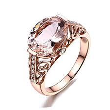 girls stone rings images Challyhope women 39 s girl 39 s love cubic gemstone rings jpg