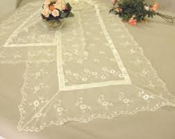 tulle table overlay etsy
