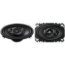 pioneer 4x6 pioneer 200w 4x6 inch 3 way 4 ohms coaxial car audio speakers pair