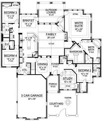single story home floor plans floor plan porch plan around garage and wrap wood small designs