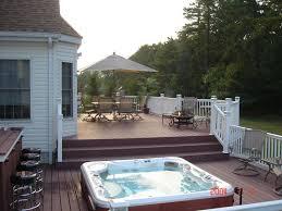 Backyard Deck And Patio Ideas by 93 Best Spa Decks Images On Pinterest Decking Ideas Backyard