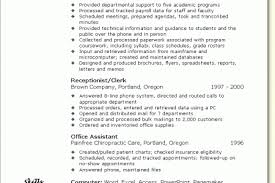 Sample Medical Office Manager Resume by Resume Examples For Medical Office Specialist Reentrycorps