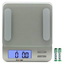accuweight digital kitchen scale electronic meat food diet scale