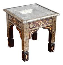 moroccan tea table stand moroccan tables syrian and indian tables sheherazade home