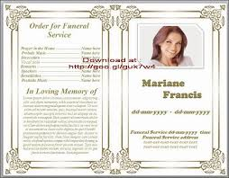 funeral notice template premium funeral obituary template sample