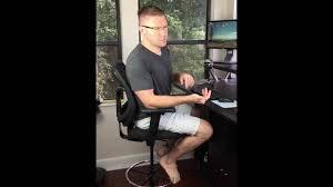 wobble stool vs high drafting chair for standing desk youtube