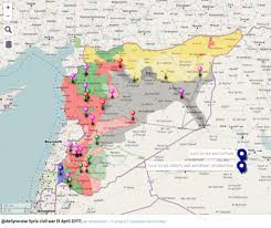 Ar Map Agathocle De Syracuse Syria Interactive Conflict Map 9 April 2017