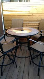 Bar Height Patio Furniture by Best 25 Bar Height Patio Set Ideas On Pinterest Patio Table