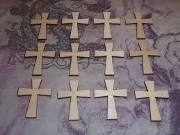 unfinished wood crosses wood crosses unfinished wooden shapes 12pcs c02 019 artistic craft