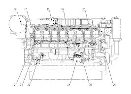 system overview 3516b marine auxiliary engine caterpillar