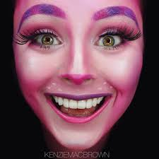 pink cheshire cat makeup halloween makeup pinterest cheshire
