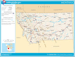 Montana Map Cities by Map Of Usa With Major Cities