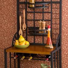 Baker Racks Decorating Ideas Incredible Dining Room Decoration Using Black