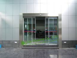 sliding glass door protection aliexpress com buy commercial automatic sliding door for office
