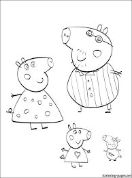 colouring pages peppa pig free peppa pig coloring