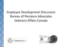 bureau des pensions ppt employee development discussion bureau of pensions advocates