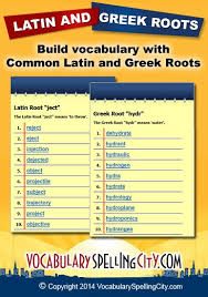 list of root words for common and roots http www spellingcity