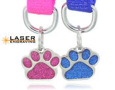 laser engraved dog tags personalized dog tags ebay