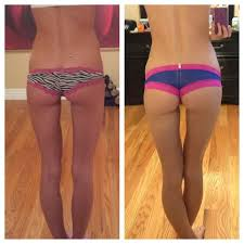 After Challenge Before And After Squat Transformations