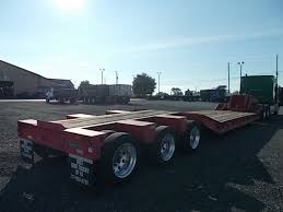 jeep hauling trailer lowboy trailers for sale