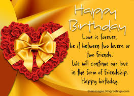 birthday wishes for ex boyfriend 365greetings com