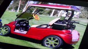 golf cart son of ken venturi has 14 000 custom golf cart stolen finds it