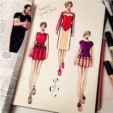 59 best sketches on fashionary images on pinterest fashion