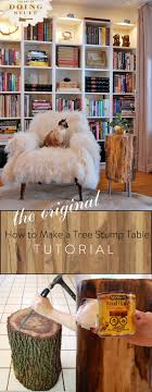 how to make a tree stump table stumped how to make a tree stump table the art of doing stuffthe