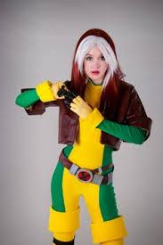 Men Rogue Halloween Costume Rogue Latex Dress Cosplay Superheroine Cosplays Caught