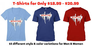introducing our new boston skyline t shirts for sale