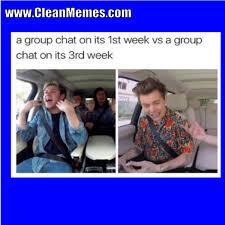 Group Chat Meme - group chat clean memes the best the most online