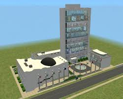 mod the sims united nations ny headquarters no cc