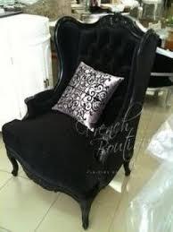 Velvet Wingback Chair Black Wingback Chair Foter