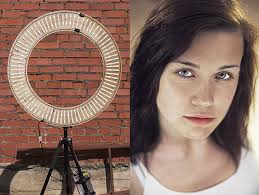 circular led light strip a diy ring light made with aluminum plywood and led light strips