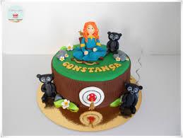 Dragon Ball Z Cake Decorations by Princess Merida Brave Cake Os Bolos Da Anocas Pinterest
