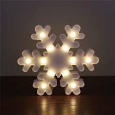 aliexpress buy white snowflake sign 3d figure light