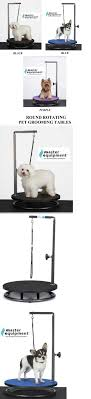 dog grooming tables for small dogs grooming tables 146241 pro round rotating portable small pet dog