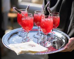 red cocktails wedding day cocktails 6 creative embellishment options for drinks