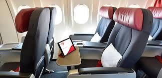 reserver siege air canada surclassement en service classe affaires vacances air canada