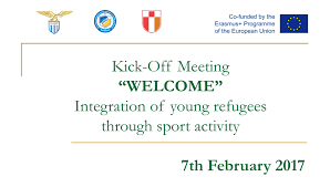 Psychiatrist Resume Kick Off Meeting For Welcome Integration Of Young Refugees